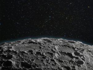 月のクレーター